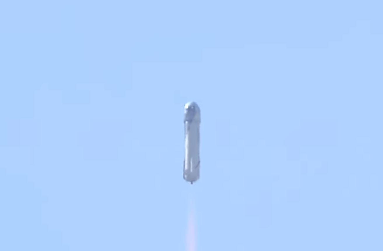 NS-14 lifting off