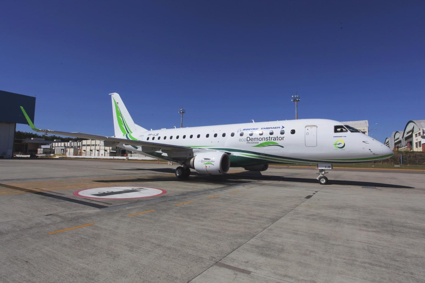 Boeing and Embraer SAunveiled the next phase of the Boeing ecoDemonstrator program today