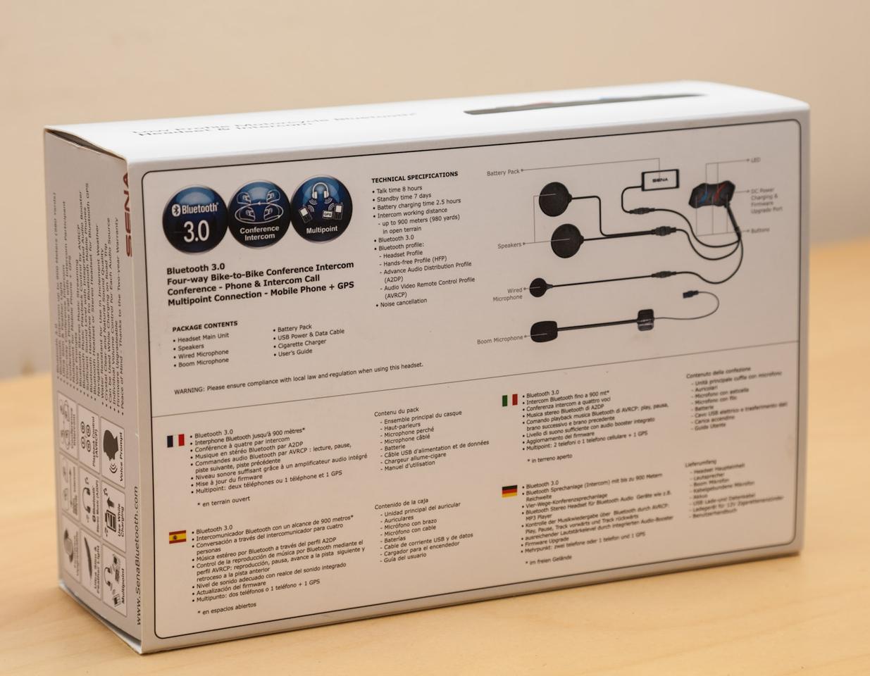 The SMH10R box