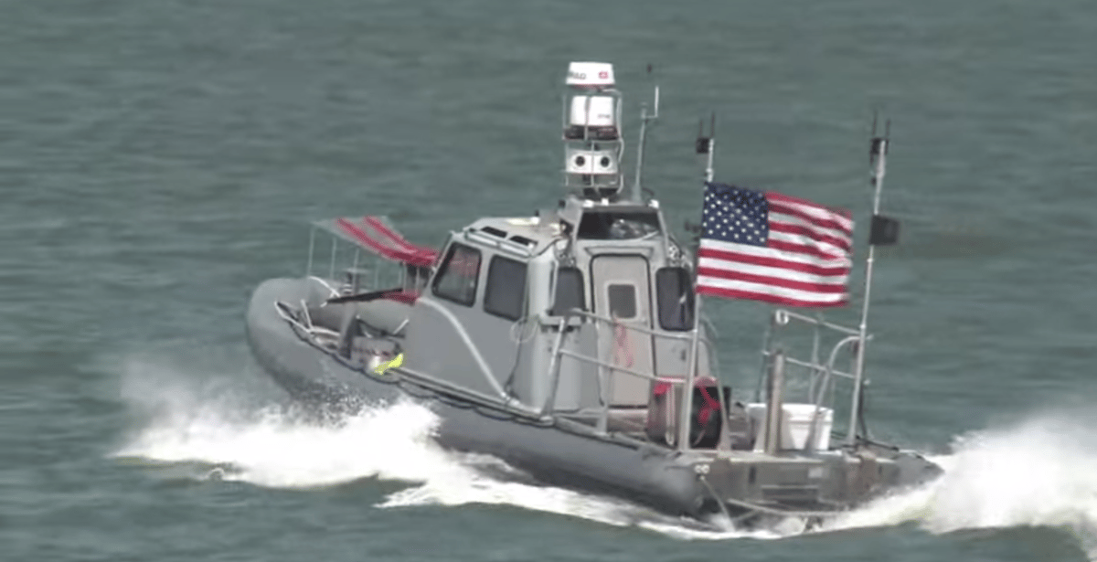 The ONR swarm fleet is designed to deal with the threat of small fast boats in harbor (Photo: ONR)