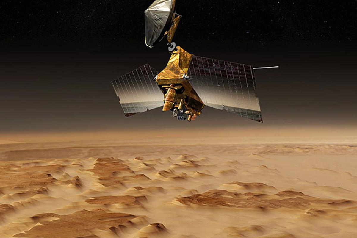 Artist's concept of the Mars Reconnaissance Orbiter (Image: NASA/JPL)