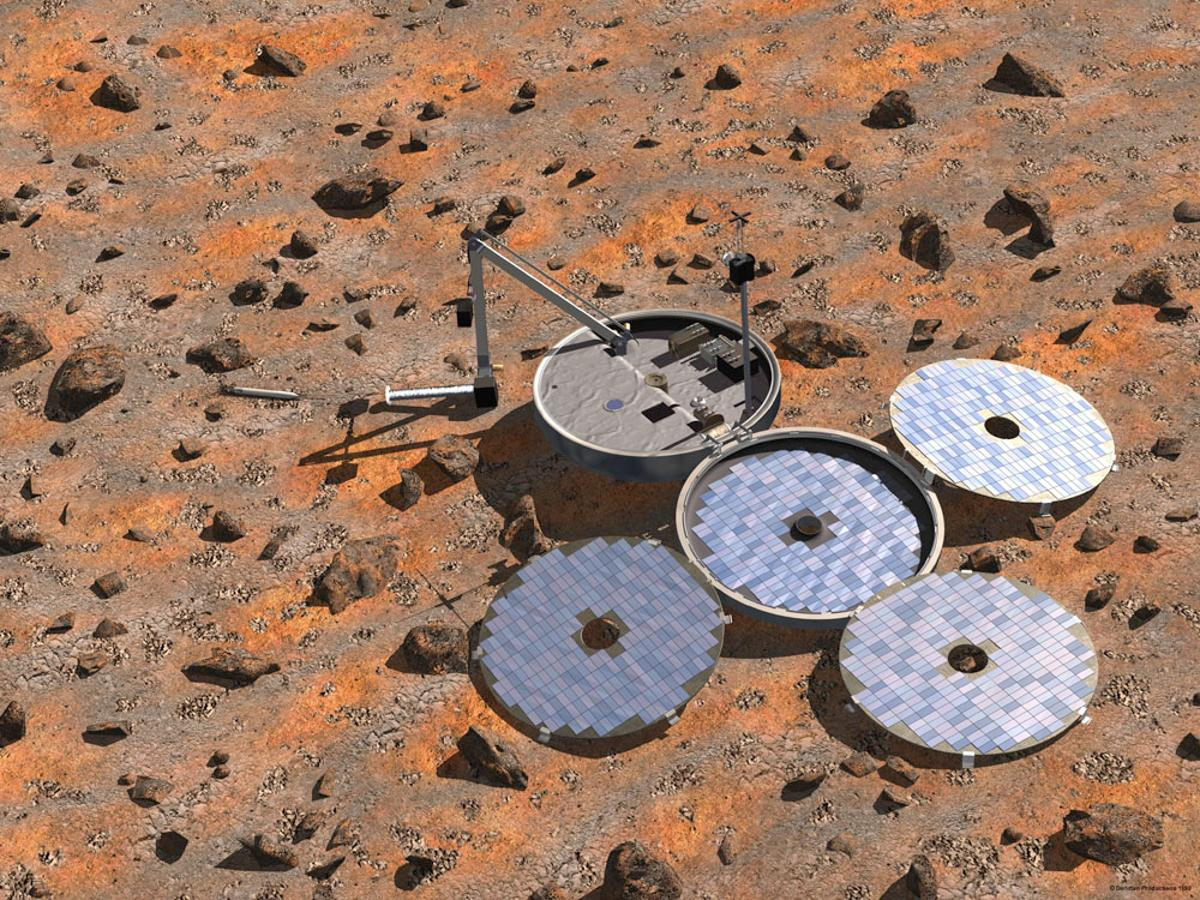 New evidence indicates that Beagle 2 may have landed safely and began operating on Mars, but its antenna was fouled