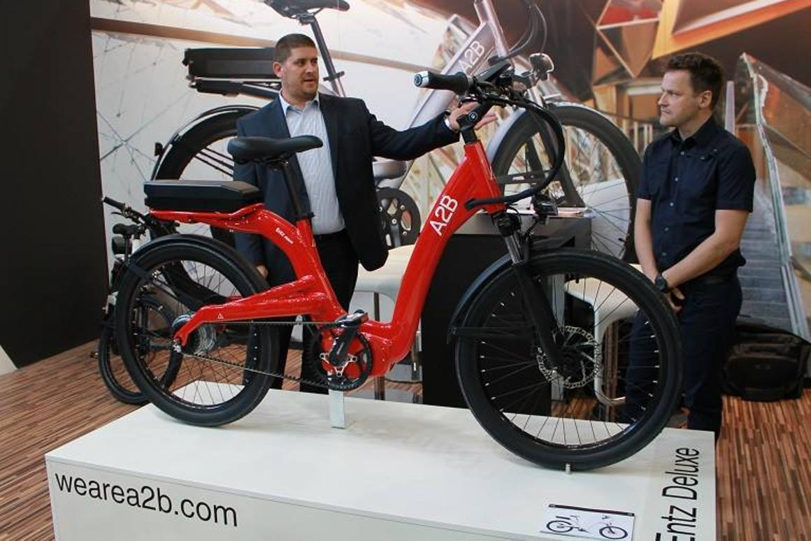 The all-new A2B Entz is among the very first e-bikes to feature Continental's CONTI eBike drive system