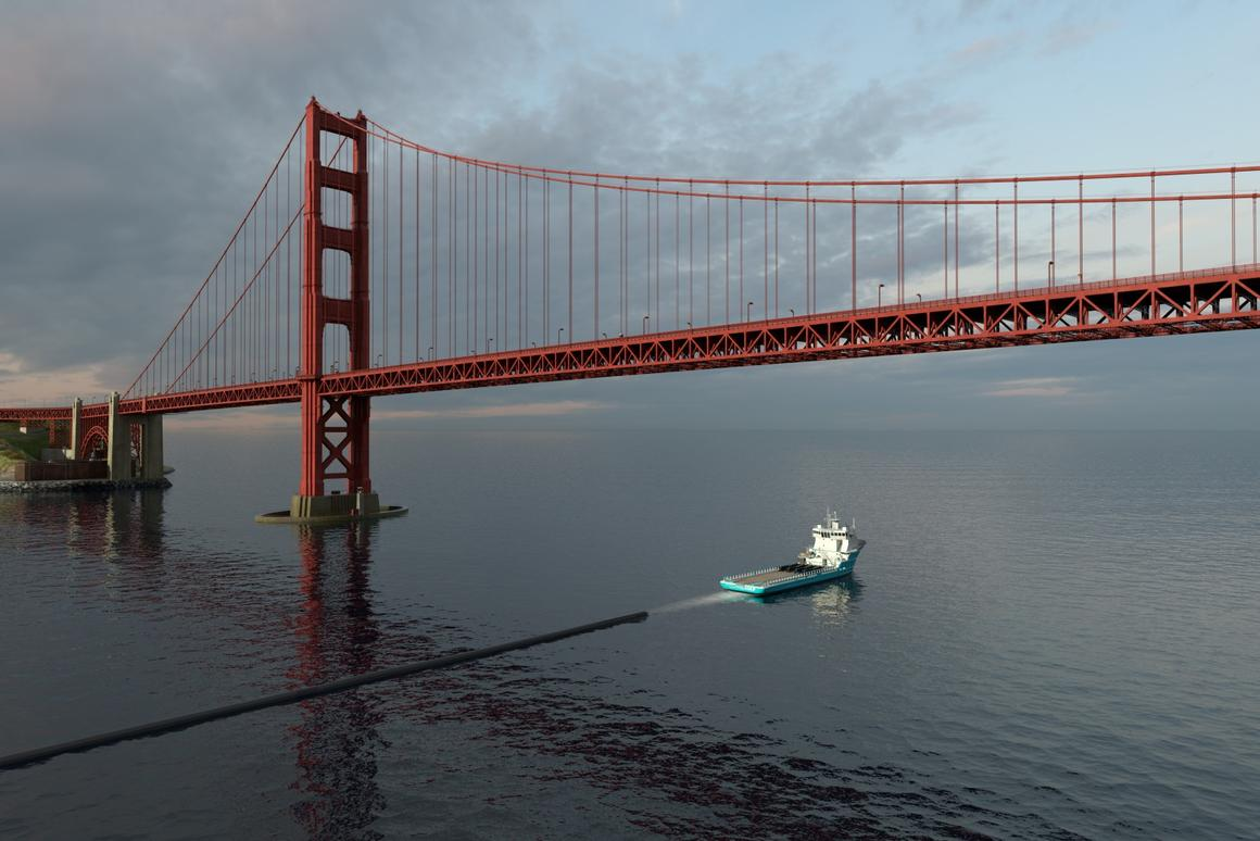 The Ocean Cleanup project plans to towCleanup System #1 out into the Pacific midway through 2018