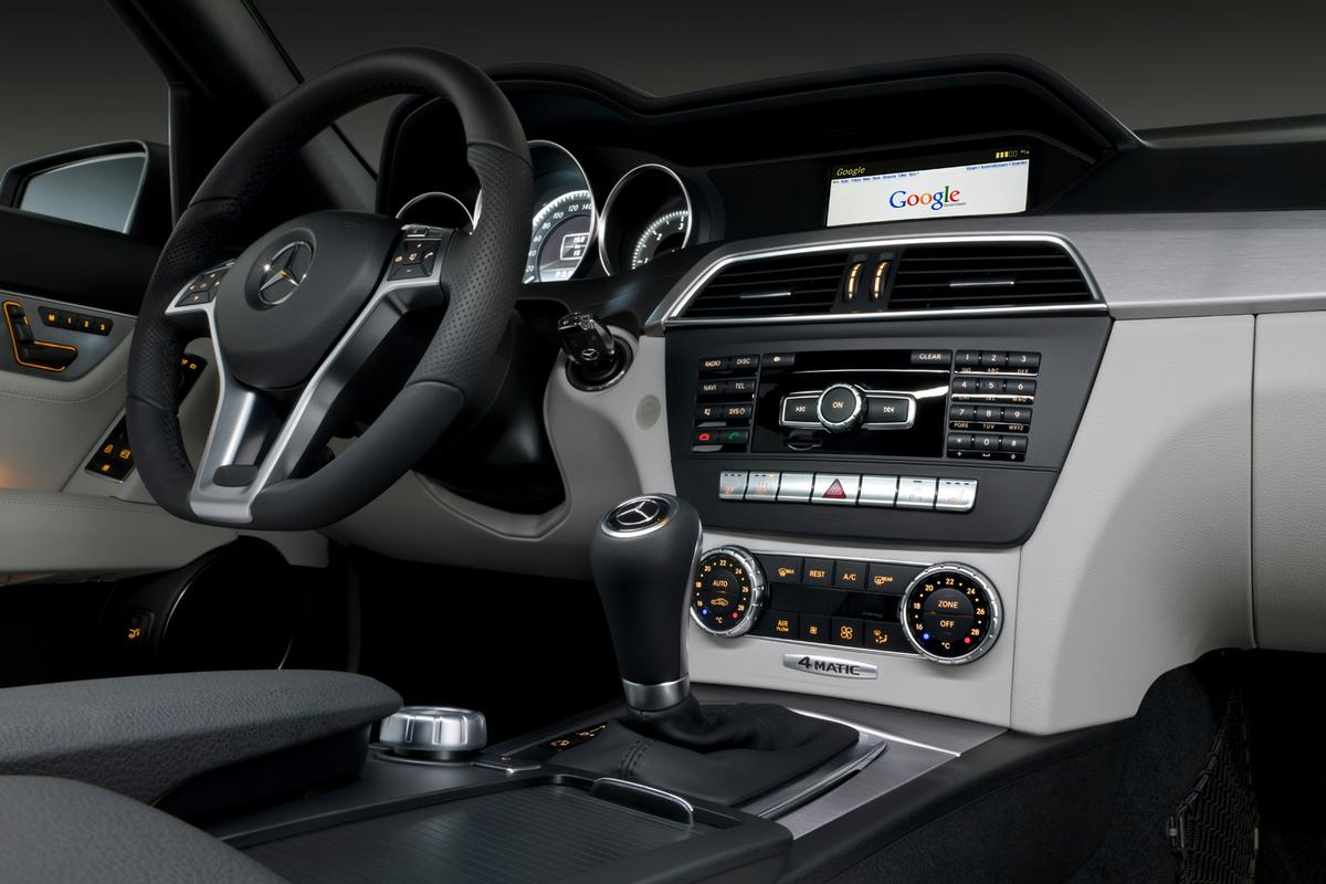 Mercedes' new C-Class now boasts in-dash internet access using a smartphone's Terminal Mode