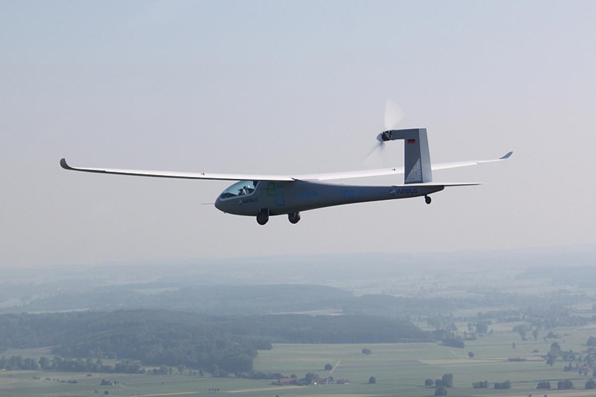 Google is sponsoring the Green Flight Challenge in which the e-Genius electric glider (pictured) is competing