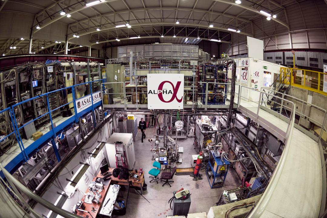 Researchers at CERN have studied the spectrum of antihydrogen atoms for the first time, and found it matches that of regular hydrogen