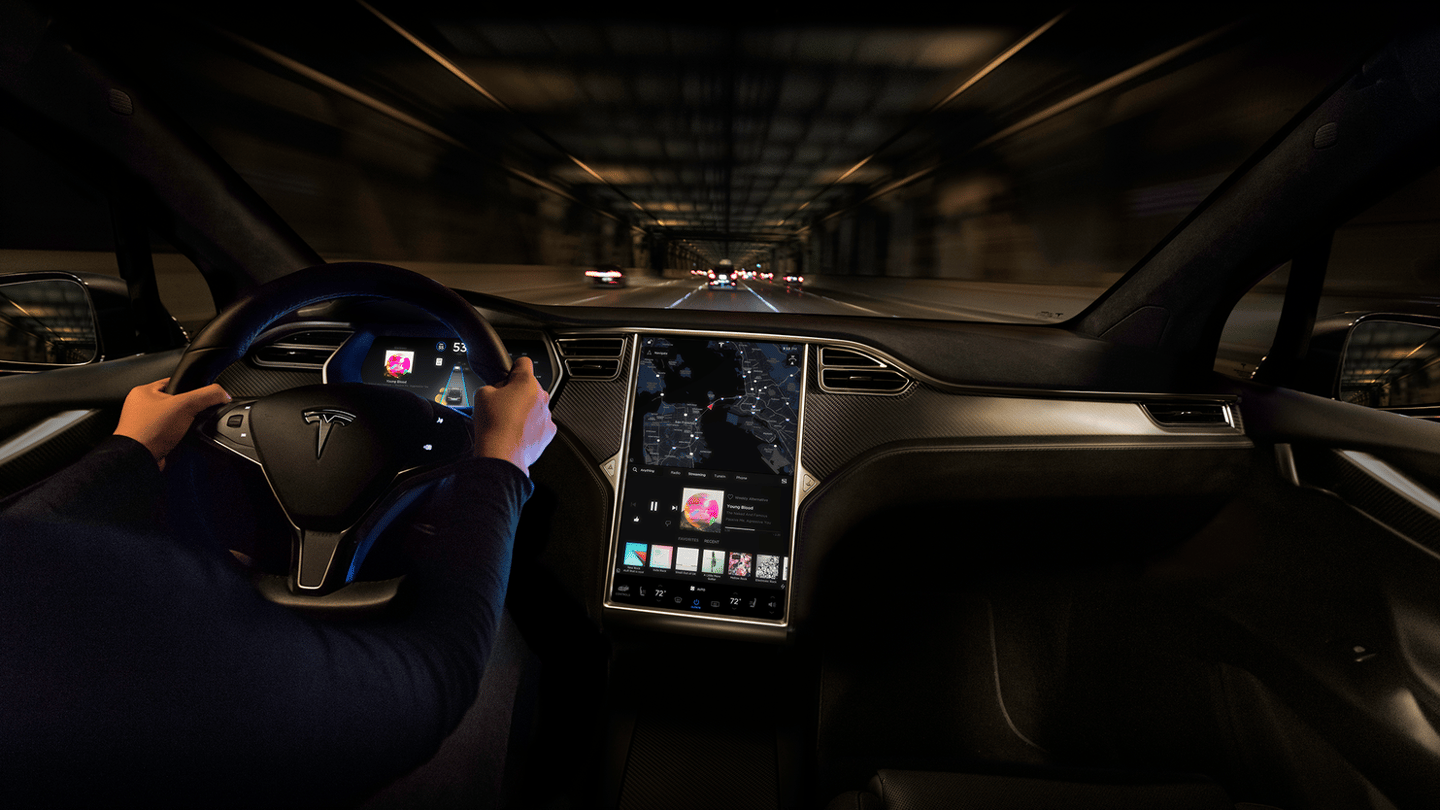 Netflix and YouTube will soon be available on Tesla's in-car displays, butonly when the vehicle is stationary