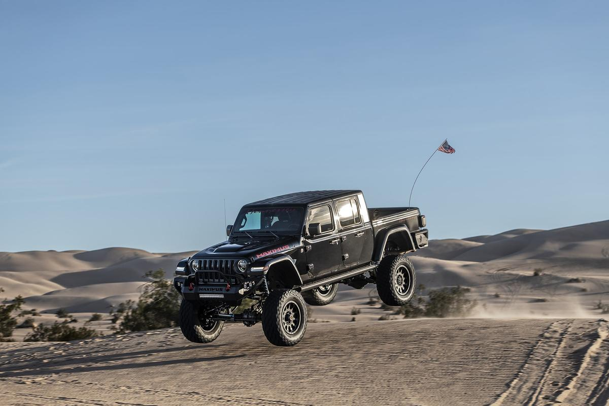 Hennessey puts its Jeep Gladiator Maximus to the test ... and has a little fun doing it