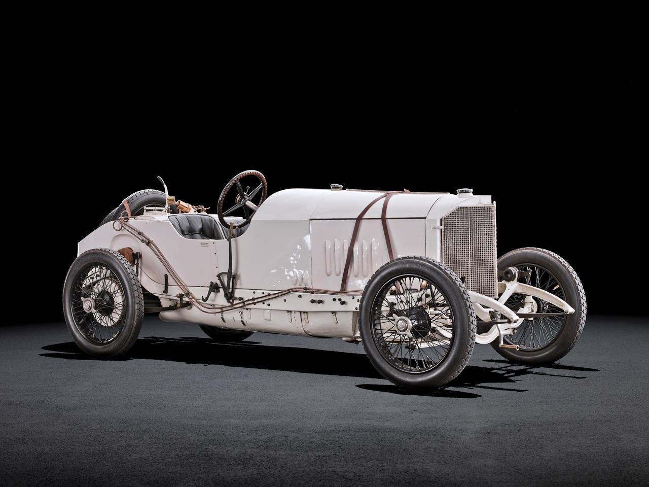 The Mercedes 4.4-liter Grand Prix racing car of 1914
