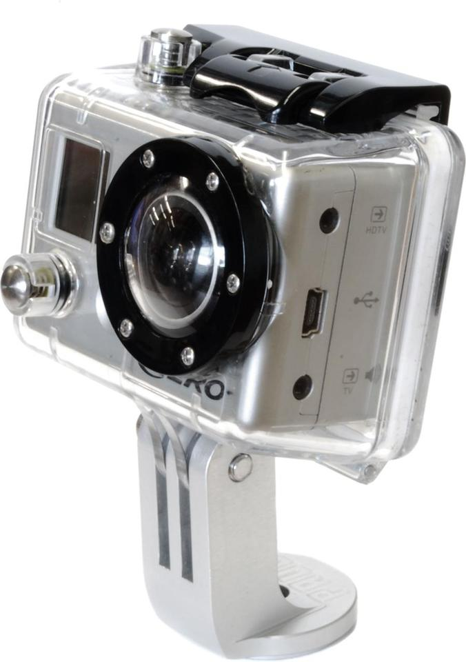 The mount works with all three generations of HERO cameras