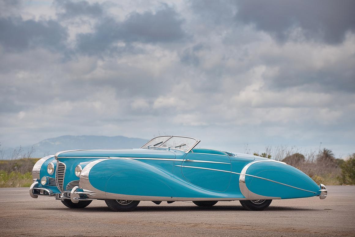The Delahaye 175 S Saoutchik Roadster Photo: Ron Kimball/Kimball Stock