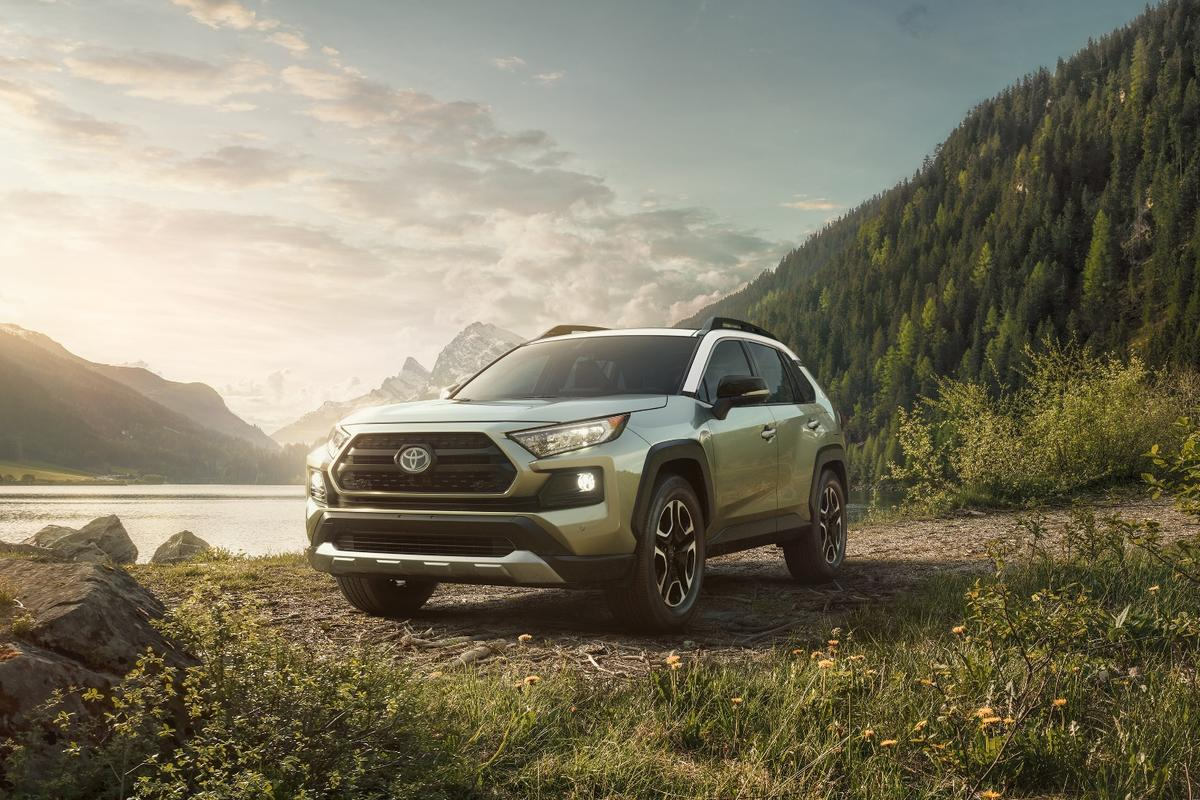 Toyota says the RAV4 is its best-selling vehicle in North America
