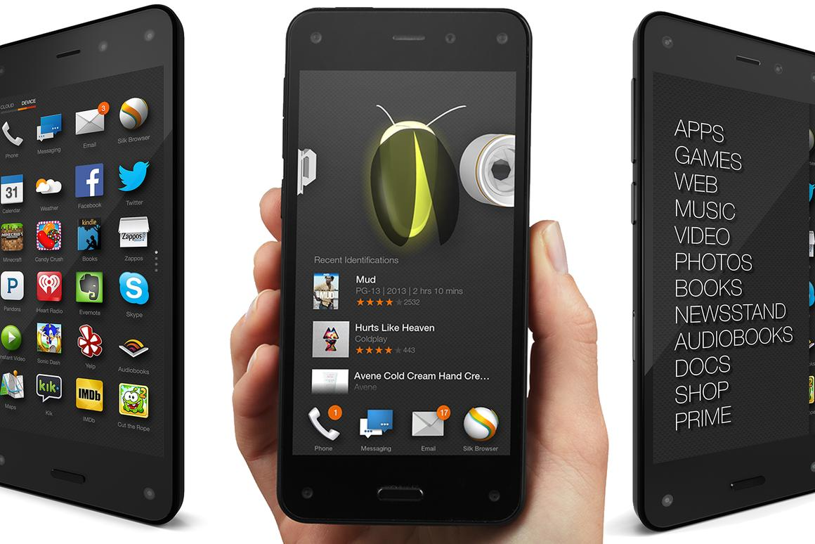 The Fire Phone is Amazon's first attempt at conquering the competitive market