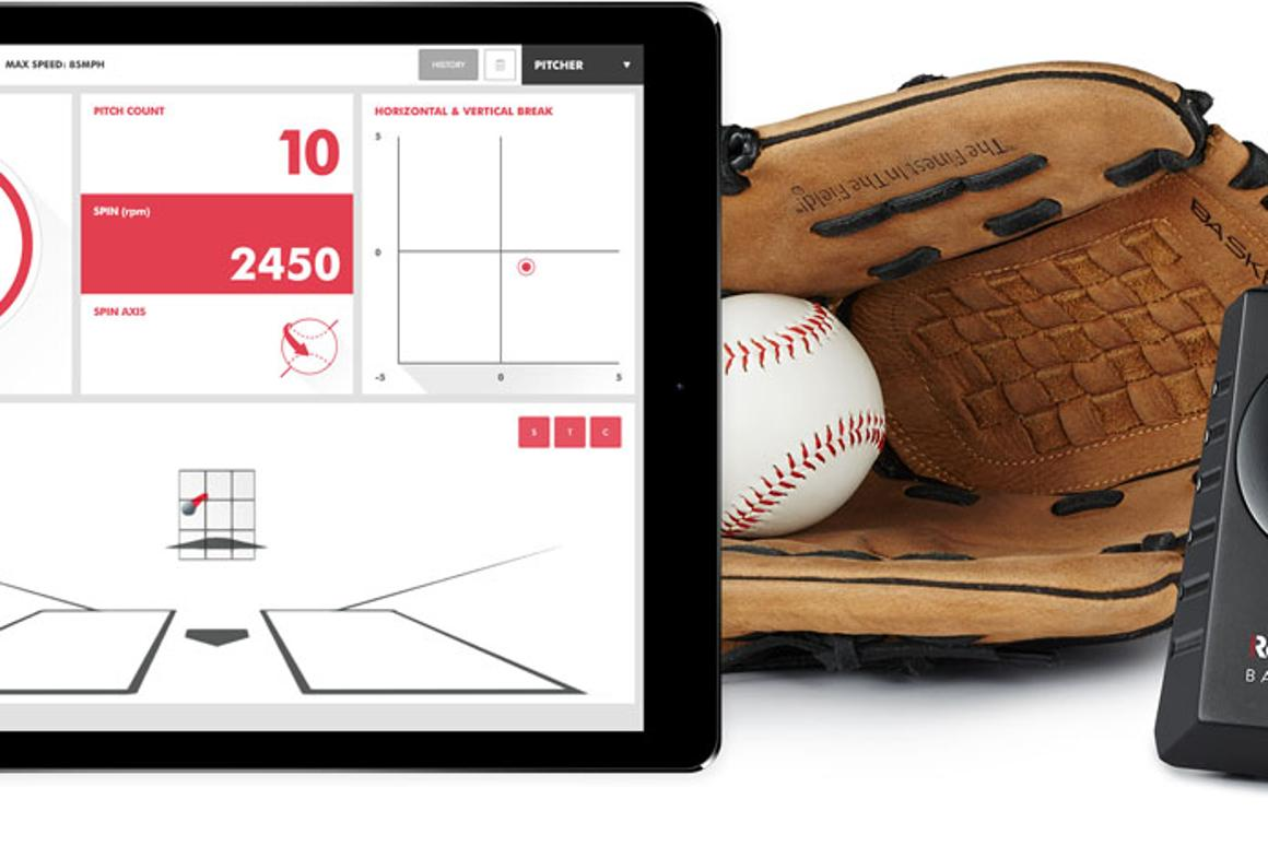 The Rapsodo system will track a range of pitching metrics