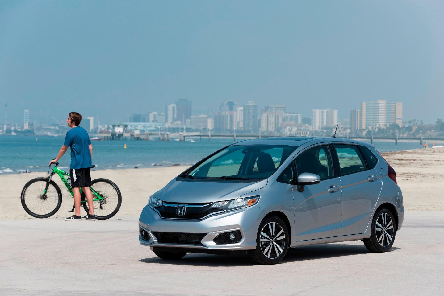 The refreshed Honda Fit looks remarkably similar to its predecessor