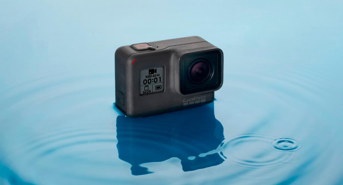 The GoPro Hero is anentry-level touchscreen action cam thatmakes GoPro affordable once again
