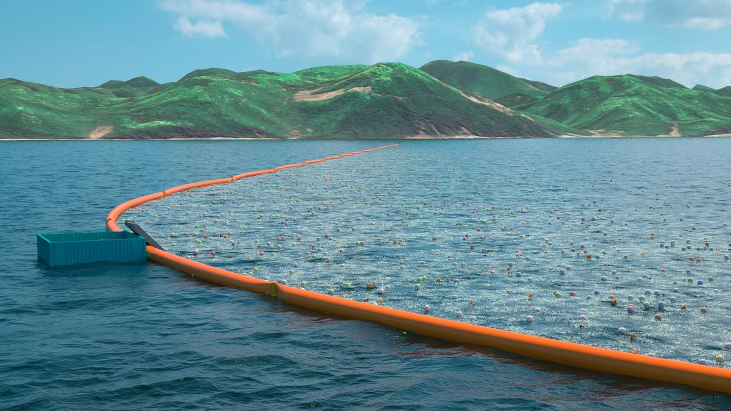 The Ocean Cleanup project was conceived by Dutch aerospace engineer-turned conservationist Boyan Slat in 2013