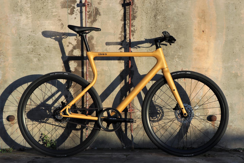 The Platzhirsch ebike, seen here in gold