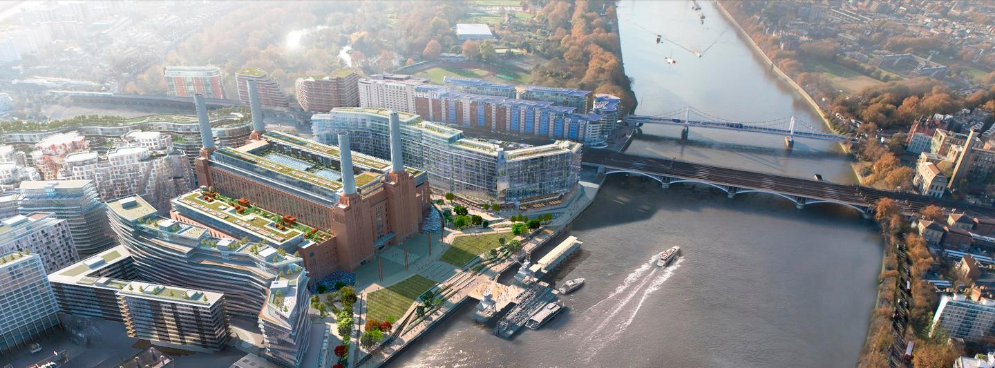 Aiming to move in by 2021, Apple will occupy six floors of the Battersea Power Station's Boiler House