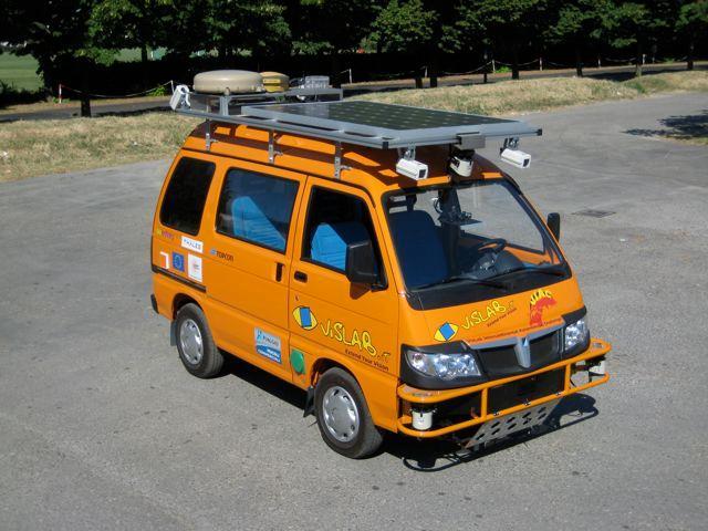 One of VisLab's VIAC autonomous vans