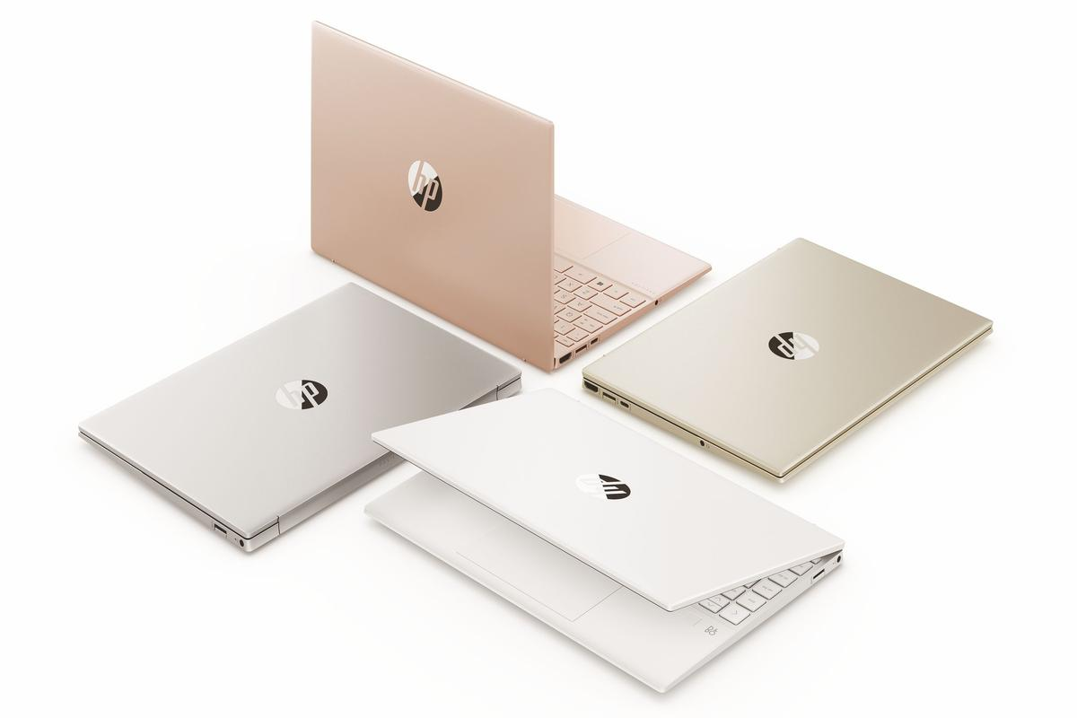 The HP Pavilion Aero 13 goes on sale from July, with pale rose gold, warm gold, ceramic white and natural silver your color choices