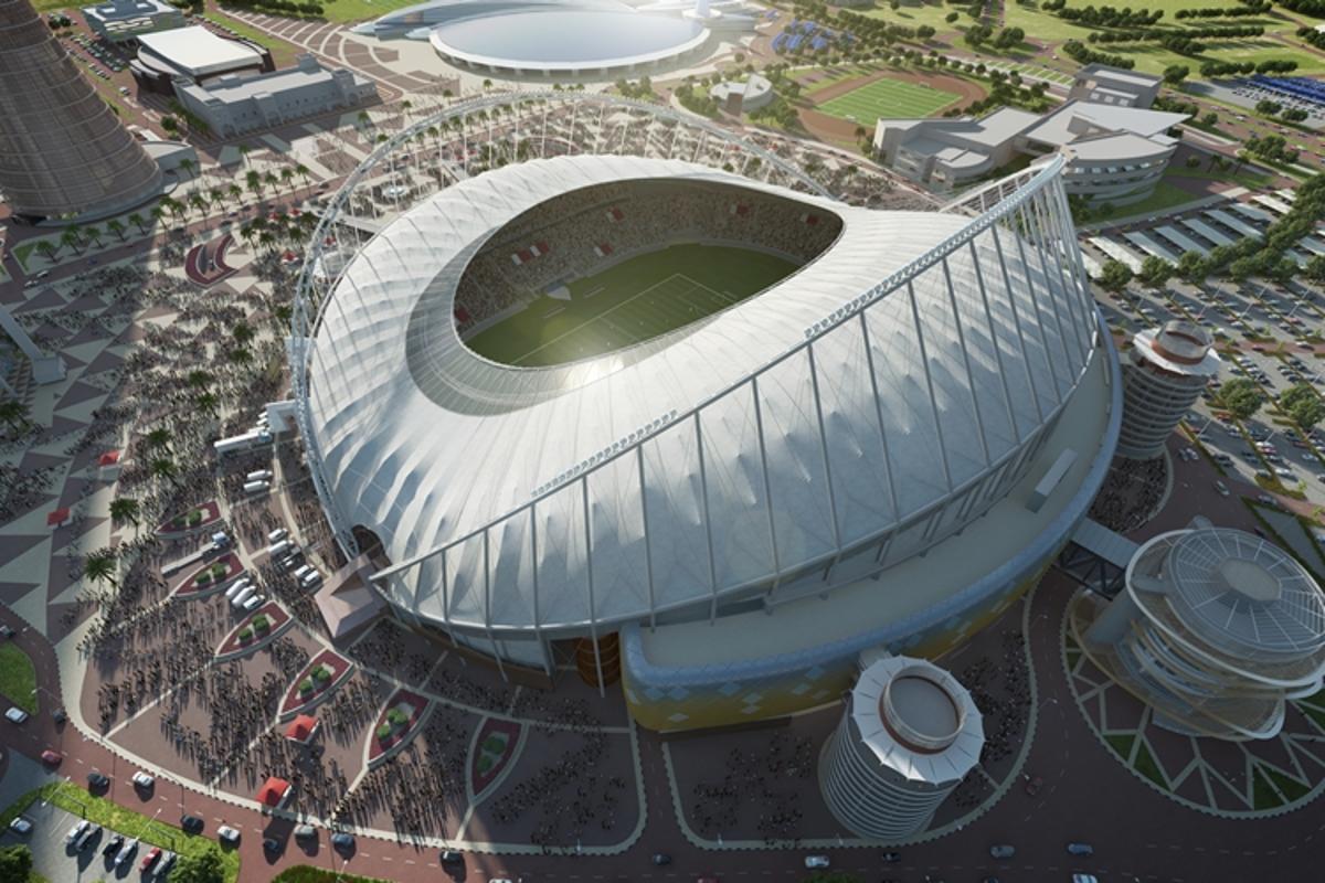 The Khalifa International Stadium is the third Qatar 2022 stadium design to be unveiled