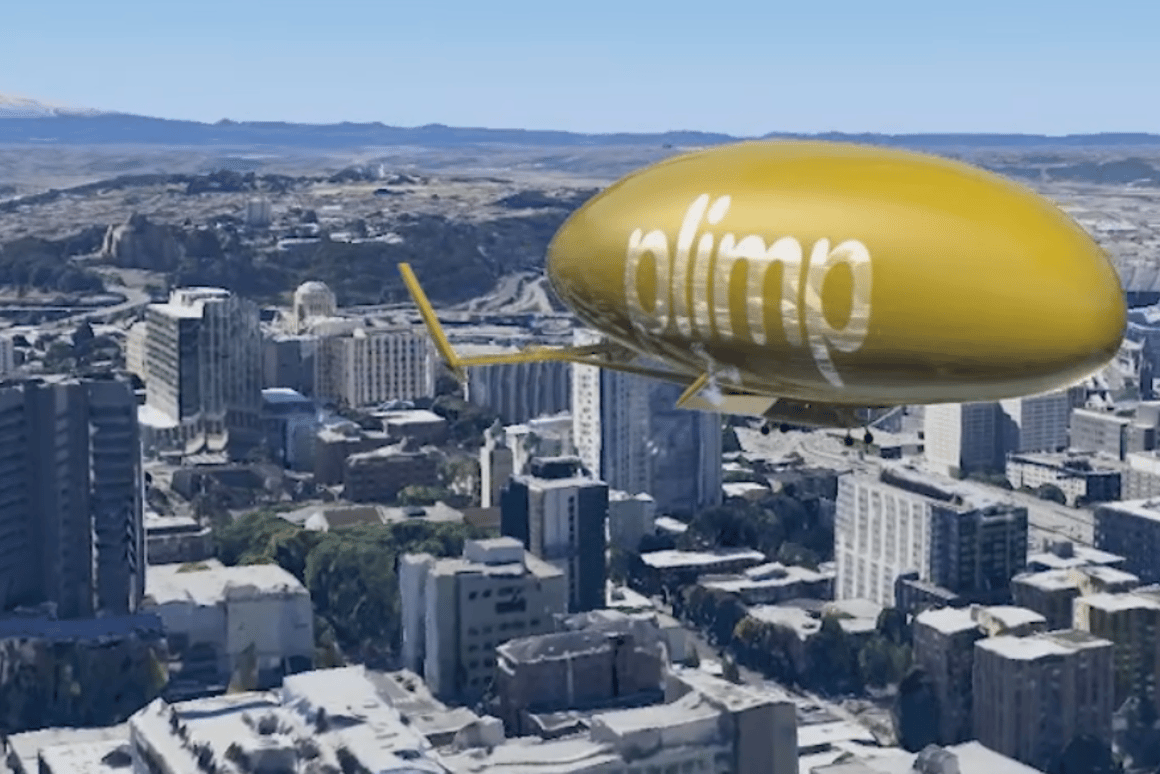 Plans call for the Model J airship to be mainly computer-controlled