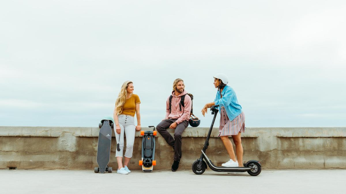 The Boosted Rev is the company's first foray into the world of folding electric scooters
