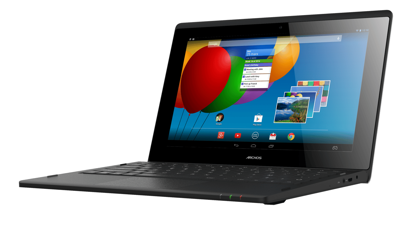 The 10.1-inch ArcBook Android netbook from Archos