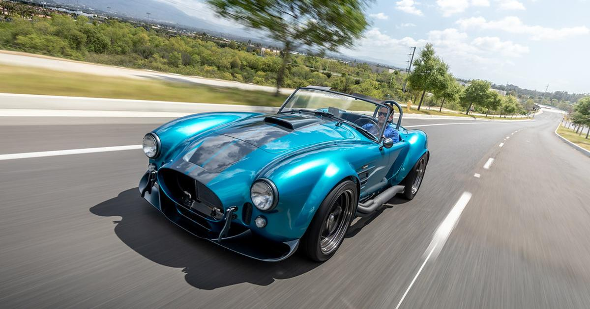 Superformance retouches the iconic Shelby Cobra