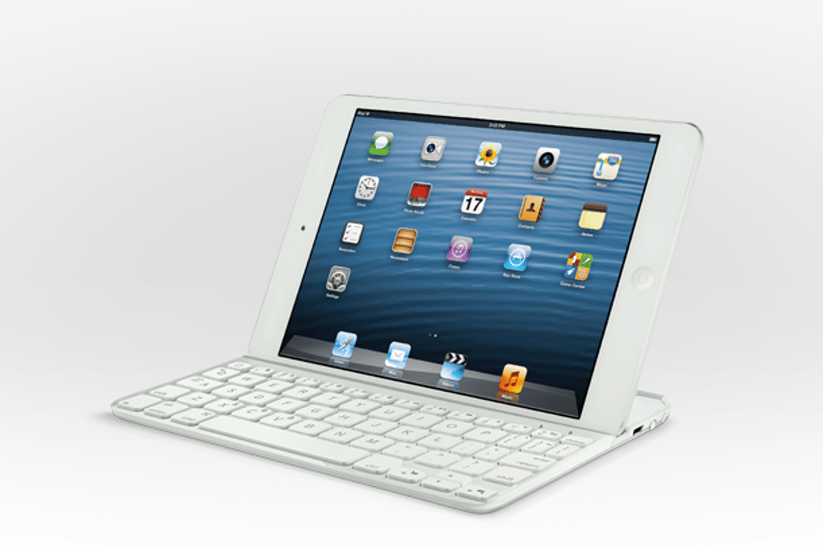 Logitech's new Ultrathin Keyboard mini in white