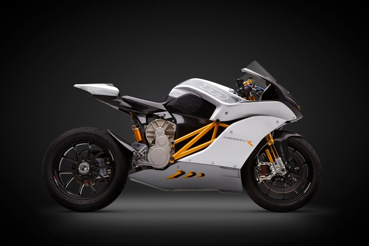The Mission RS electric motorcycle