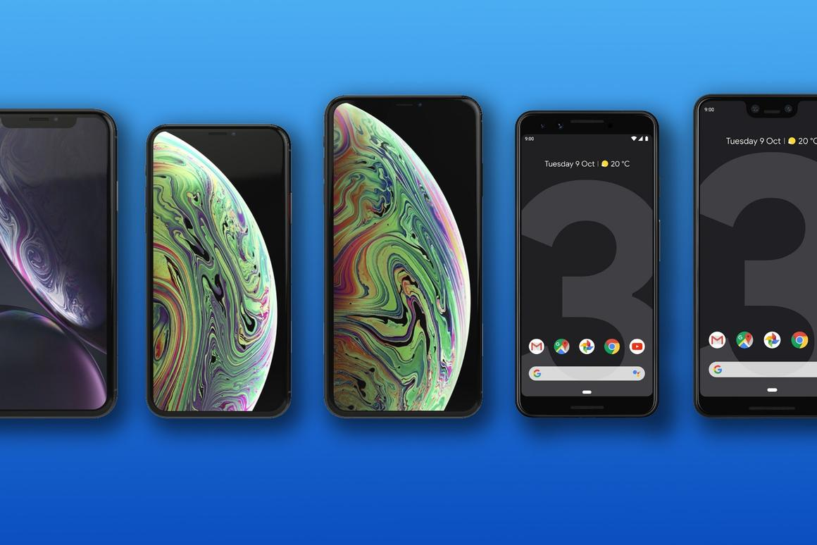 Google Pixel 3 and 3 XL vs  iPhone XR, XS and XS Max