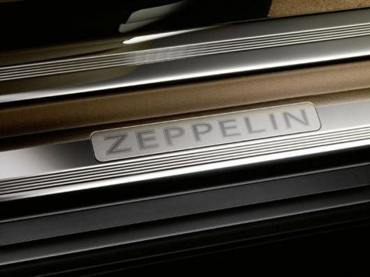 Zepplin Name Plate