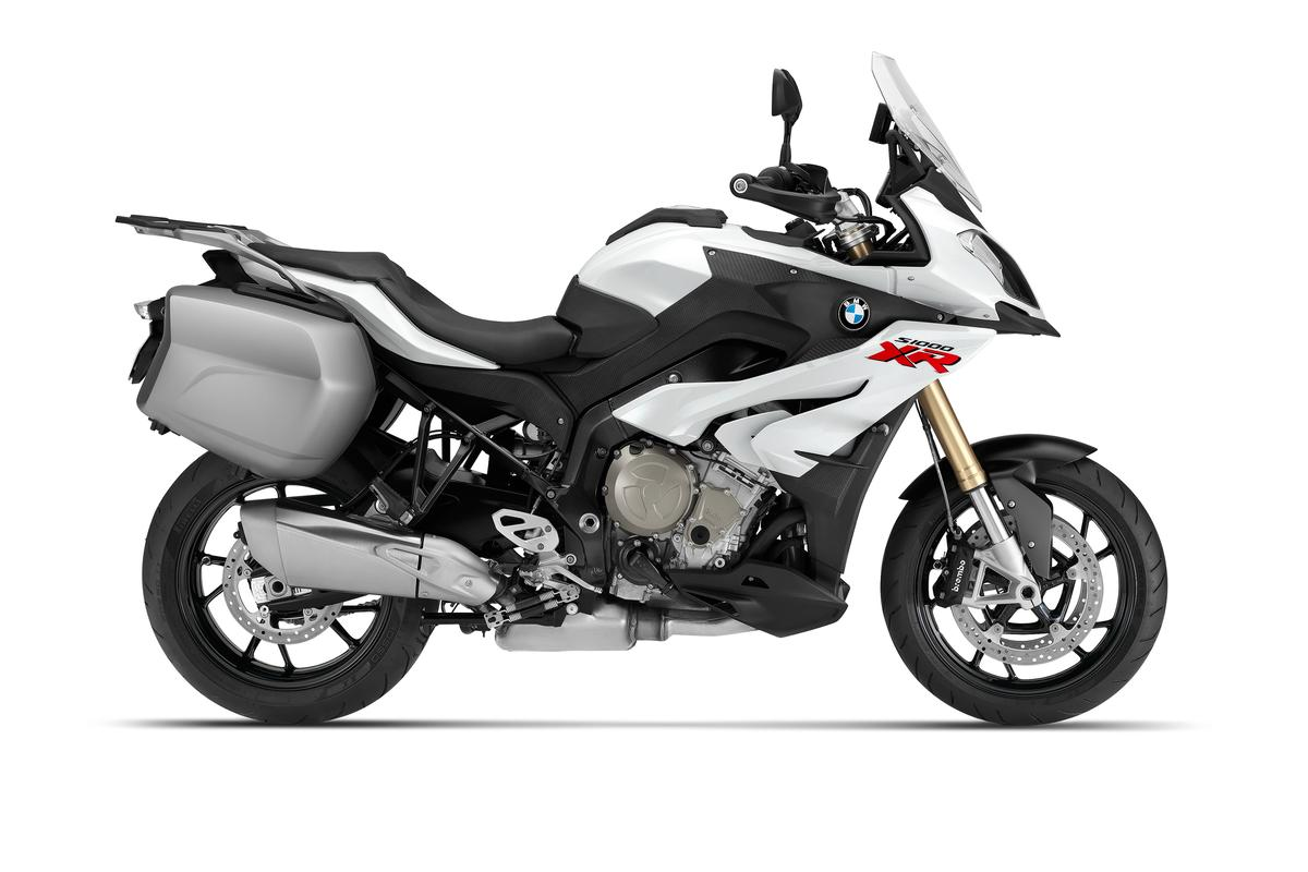 BMW's S1000XR sports adventure bike: should be an absolute pearler
