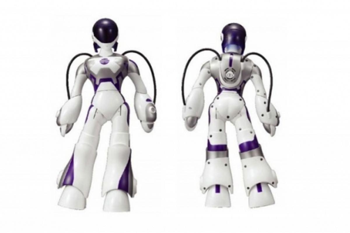 Sega's E.M.A. robot