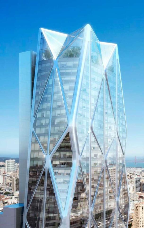 Designed in collaboration with Heller Manus (and landscaped by Kathryn Gustafson), the Oceanwide Center is part of the San Francisco's ongoing Transbay development