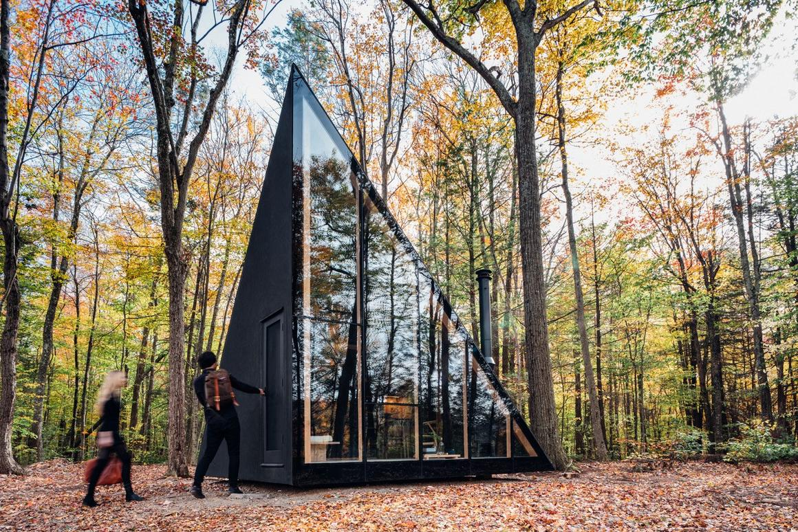The prototype A45 model pictured is currently installed in Upstate New York and measures 183 sq ft (17 sq m)