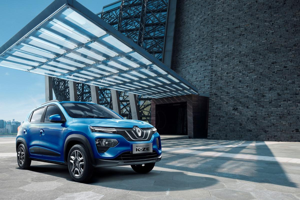 Renault is targeting theChinese market with a tiny electric crossover