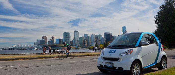 The first Canadian car2go car-sharing program is about to be launched in the city of Vancouver