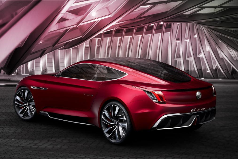 MGreveals the all-electric E-motion concept
