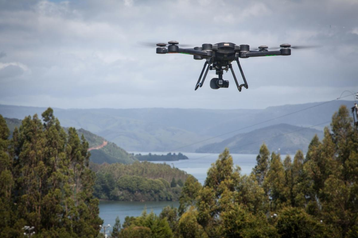 When the battery hits 25 percent, the drone's auto-return home function will kick in