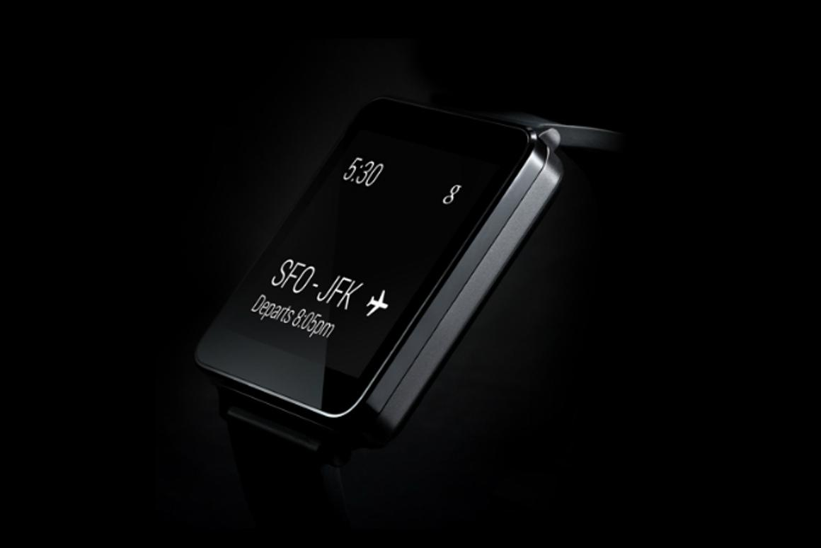 LG has announced the launch its LG G Watch, which will use Google's new Android Wear platform