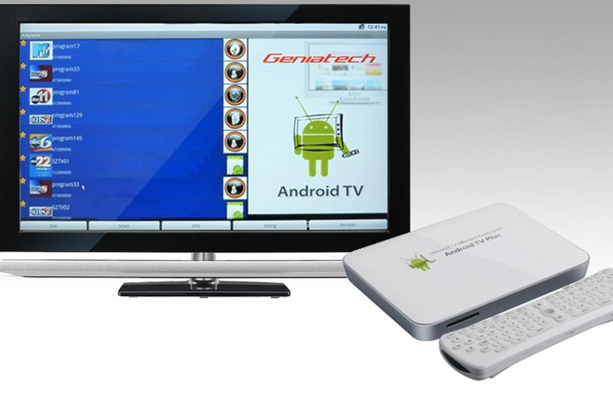 Geniatech has unveiled its Android TV set-top box that plays full 1080p high definition video on HDTVs, is a digital media player, a digital photo frame, a games console and internet browsing platform