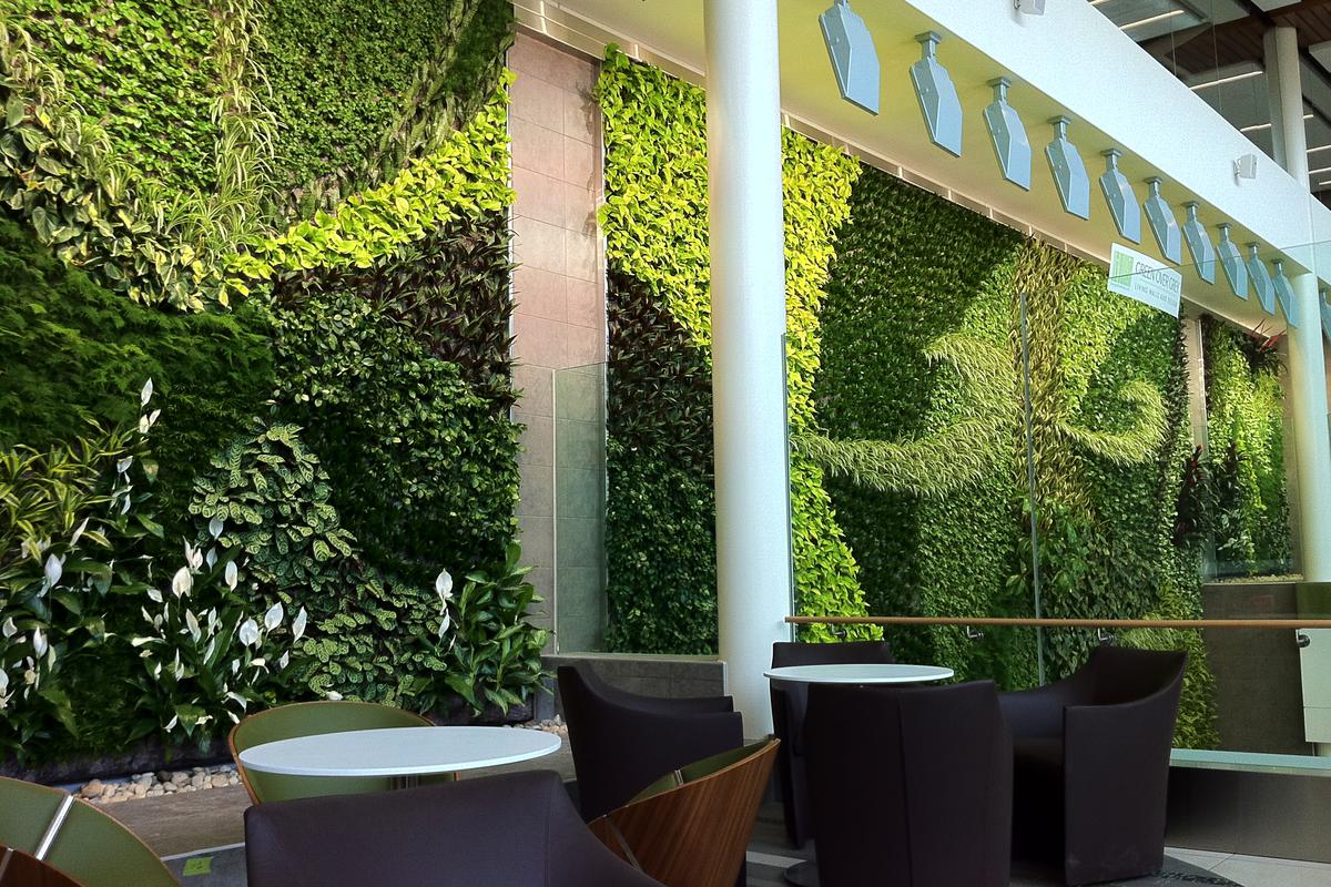 Edmonton International Airports Living Wall