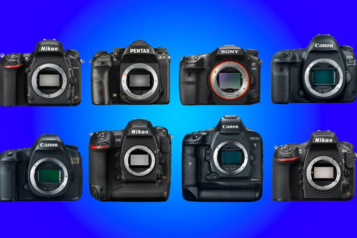 New Atlaslooks at some of the best full frame DSLR cameras available in 2016
