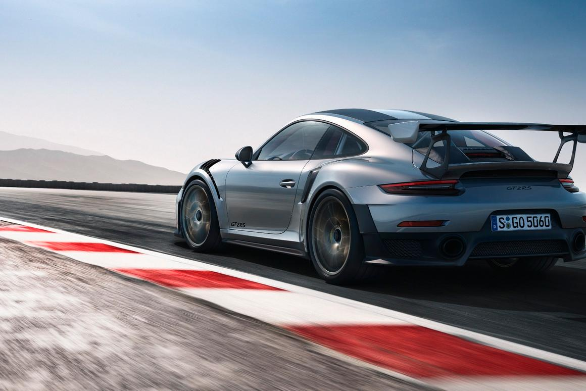 Porsche debutsthe new 911 GT2 RS at the 2017 Goodwood Festival of Speed
