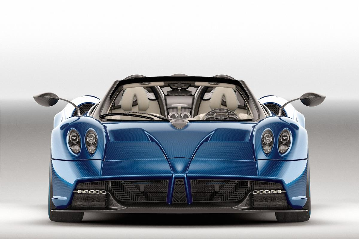 The new PaganiHuayra Roadster