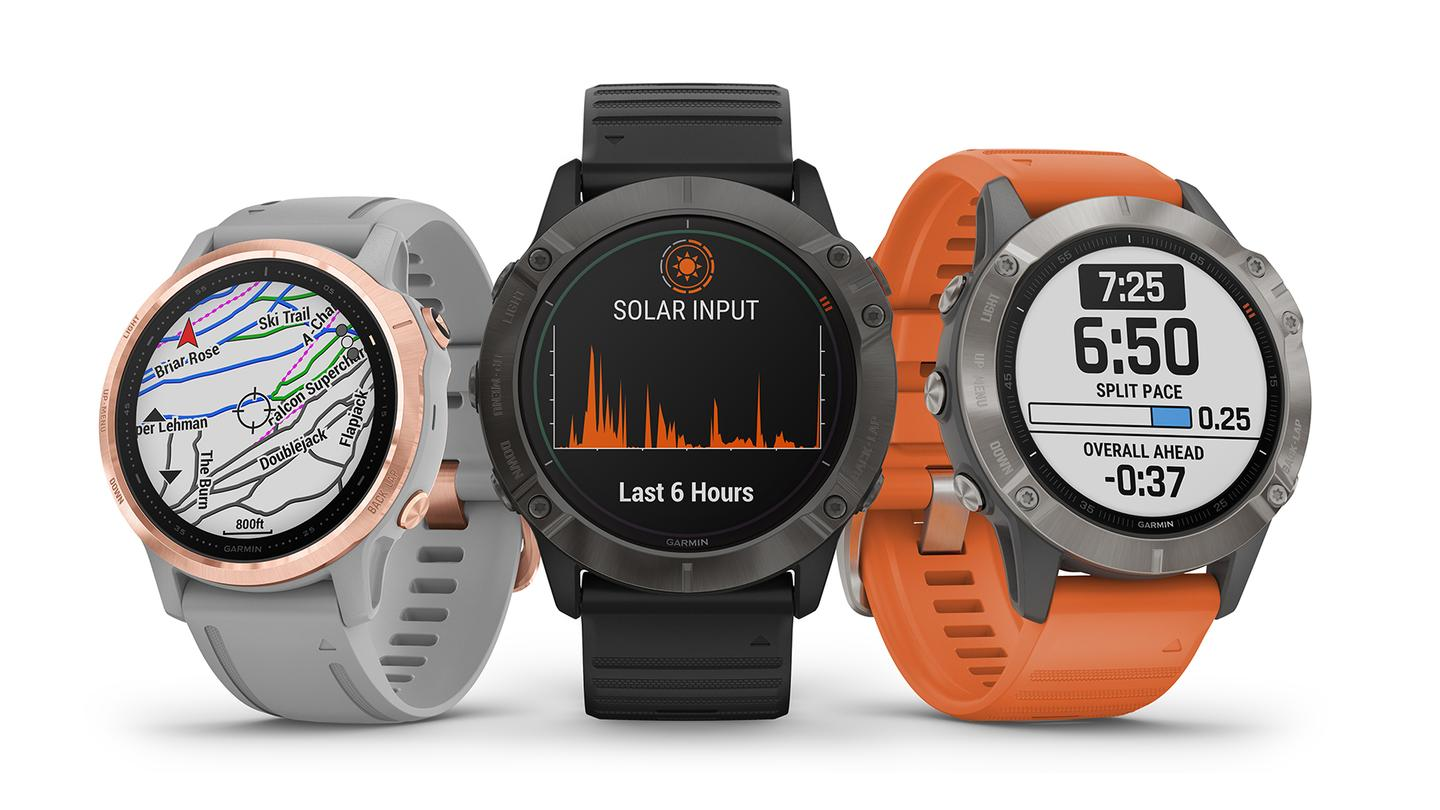 The fēnix 6 watches bring some useful improvements, and bigger screens